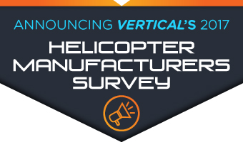 announcing verticals 2017 helicopter manufacturers survey