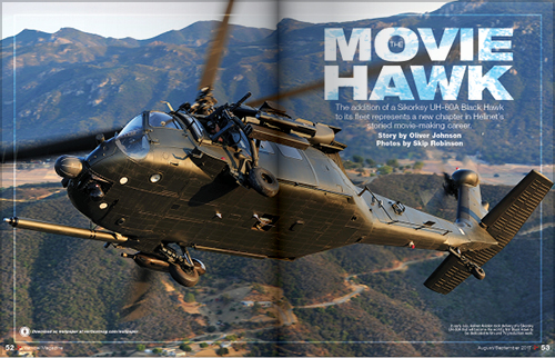 ON THE COVER: The MovieHawk