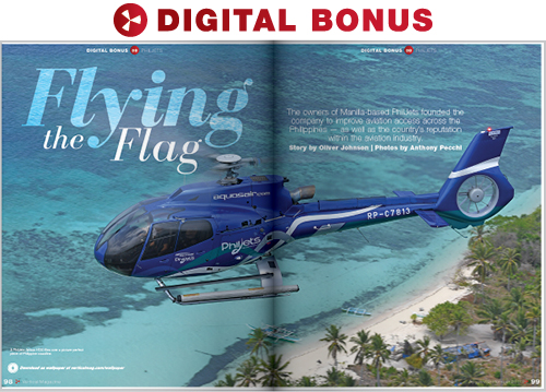 DIGITAL BONUS: Flying the Flag