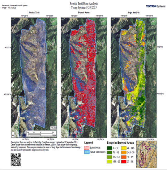 Doi Discusses Uav Performance On Active Fires Vertical Magazine