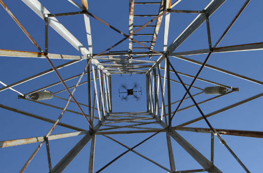 PJ Helicopters completes first utility drone inspection under sub