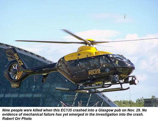 Preliminary report raises more questions in Glasgow