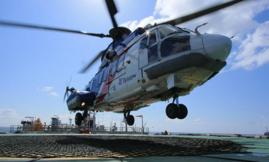 Bristow commences first flights for Petrofac in the Central North