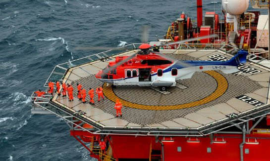 The aircraft involved in the accident was returning to Bergen from the Gullfaks B platform, 120 kilometers off the Norwegian mainland, when it went down on the edge of the island of Turøy. Airbus Photo