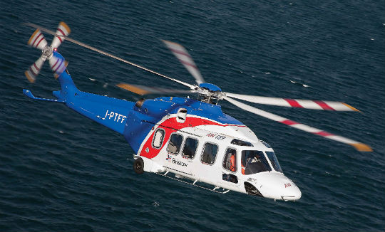 Bristow operates the largest offshore oil-and-gas transport fleet in the world. Its medium and large fleet includes the Sikorsky S-92 and S-76; Bell 212 and 412; Airbus Helicopters AS332 and H225; and AgustaWestland AW139 and AW189 (pictured). Simon Pryor Photo