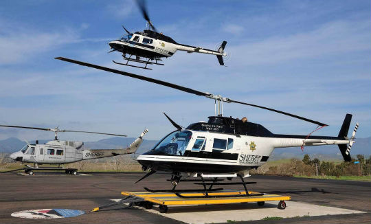 Since 2006, the U.S. Department of Defense 1033 program has distributed at least 616 aircraft to law enforcement agencies, most of them helicopters. Recently, however, the program has been under intense public scrutiny. Skip Robinson Photos
