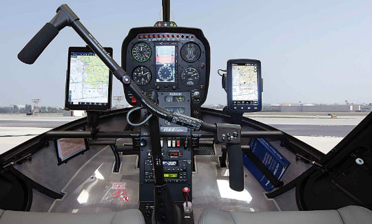 The Cadet's will be offered with different control panel configurations. In addition to a standard panel, it can accommodate larger panels with additional radios for instrument flight rules (IFR) training.