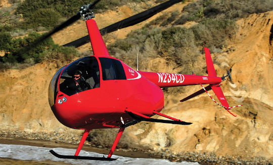Robinson said the Cadet has the same maneuverability and smoothness of control as the R44 Raven I.