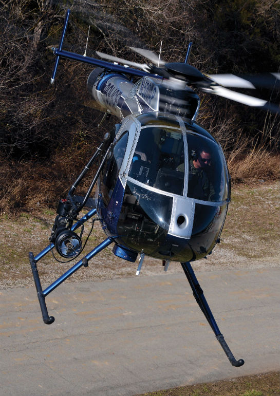 ASU pilots like the MD 520N for its maneuverability and visibility, although moving to a more capable airframe at some point would allow the unit to expand its missions.