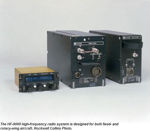 korea aerospace industries selects rockwell collins hf 9000 radio rh verticalmag com Spectrum Analyzer Rockwell Collins HF Radio