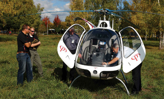 Still a novelty in the U.S., the Cabri never fails to attract the attention of passers-by.