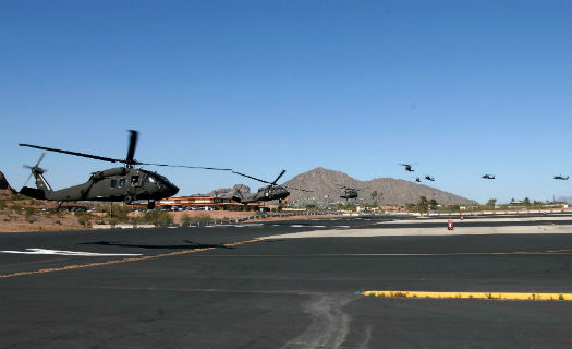 Arizona Guard aviation unit shows strength and mission