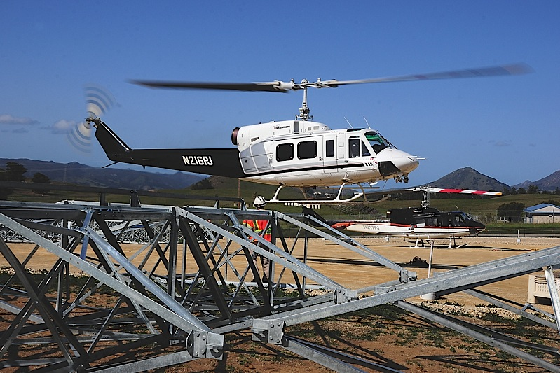 Although PJ Helicopters is capable of virtually any type of helicopter work, powerline construction and maintenance is a staple for the company.