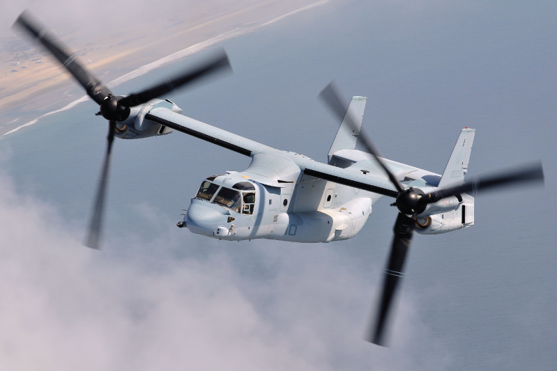 With the MV-22B, the VMM-161 Greyhawks have moved into the future. Skip Robinson Photo