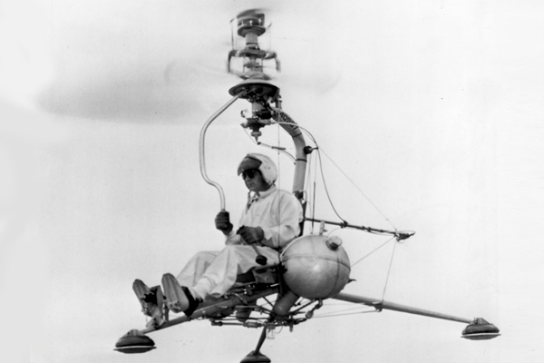The Kellett KH-15 helicopter was designed to function as a stability research vehicle. The data that resulted from the flight tests of the KH-15 significantly contributed to the improvement of the flying qualities of present-service helicopters. Kellett Aircraft/Jeff Evans Collection Photo