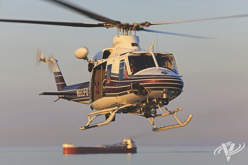 The Chicago Fire Department now has a pair of Bell 412EPs, which are a perfect fit for Air Sea Rescue unit's primary mission: a quick response to accidents around the shoreline of Lake Michigan.