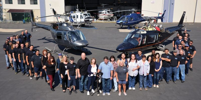 Worldwide support: Behind the scenes at RSI's full service helicopter maintenance facility