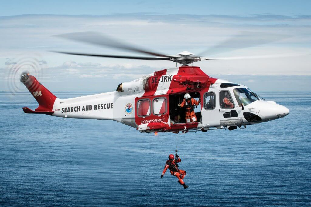 AW139 SAR helicopter