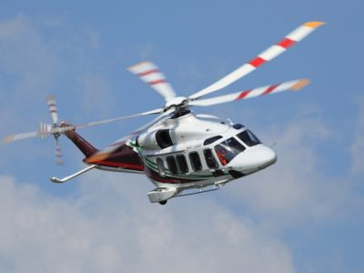 Leonardo AW189 helicopter