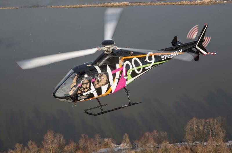 Leonardo AW009 helicopter