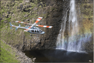 Paradise Helicopters' Bell 407