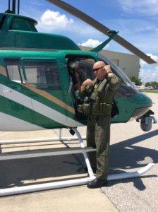 Chief pilot Rob Steht