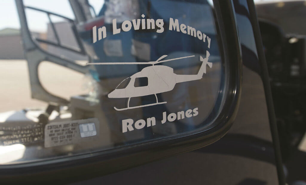 In loving memory of Ron Jones