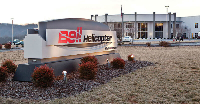 Bell Helicopter's Piney Flats location