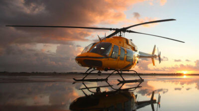 The Bell 407GXP is equipped with new avionics features, such as hover performance calculator improvement, as well as transmission time between overhaul extension of +500 hours that will lower maintenance costs. Bell Helicopter Photo