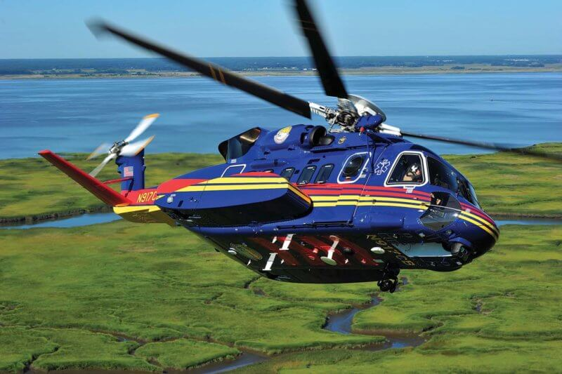 S-92 to provide a SAR/EMS response