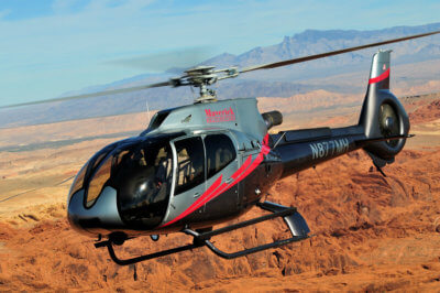 All flights will take place in an Airbus EC130/H130 ECO-Star helicopter. Skip Robinson Photo