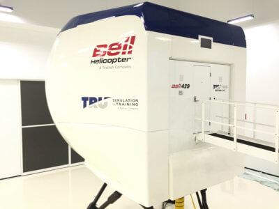 Bell 429 simulator