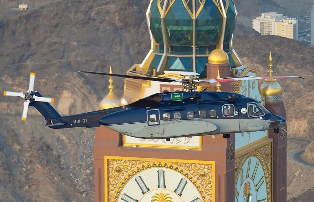 Saudi Arabia's Ministry of the Interior was the first multi-role utility S-92 customer