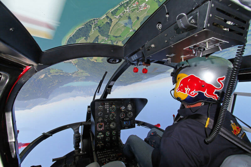 Aerobatics were in mind when aircraft was created