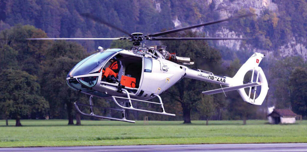 SH09 took its first flight -- in Mollis -- on Oct. 2, 2014