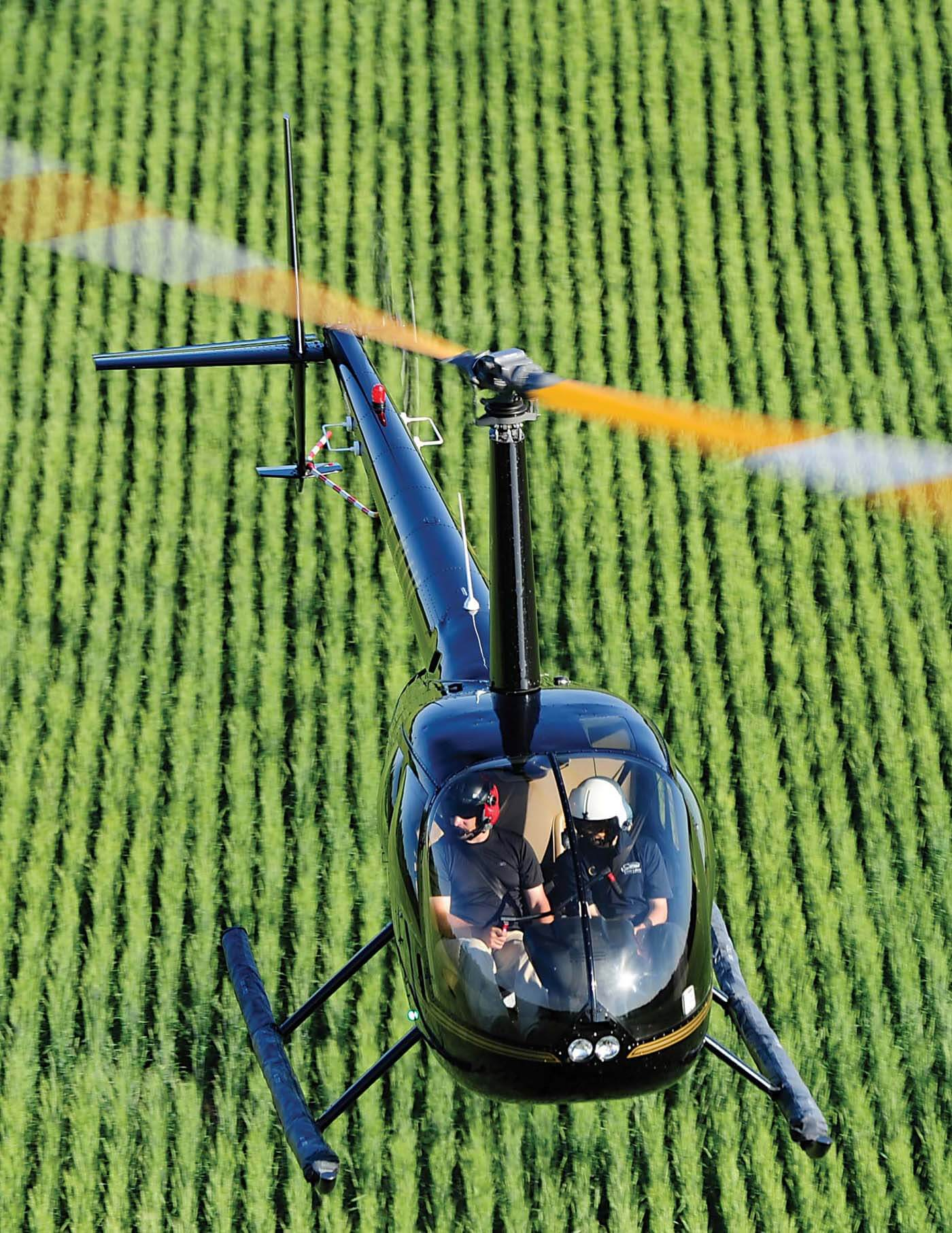 Robinson R22, R44, and R66 helicopters have accumulated over 30 million flight hours