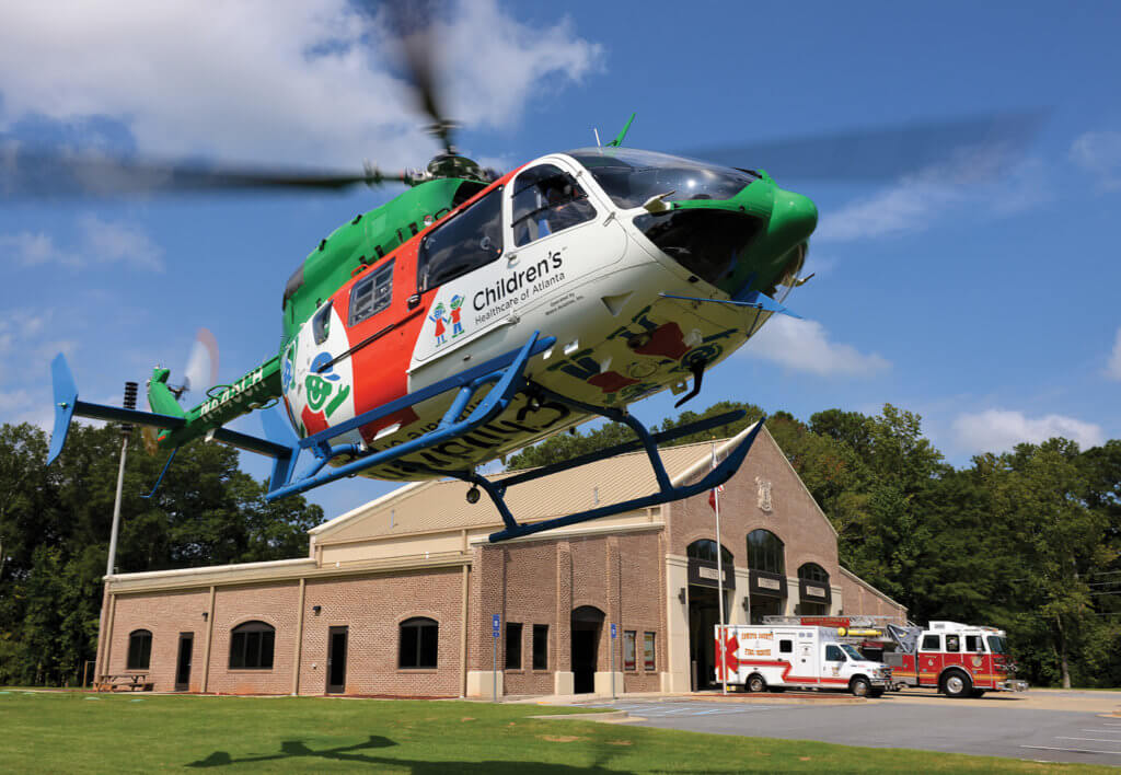 CHOA is relatively unusual among pediatric medical programs in responding to scene calls as well as conducting interfacility transports.