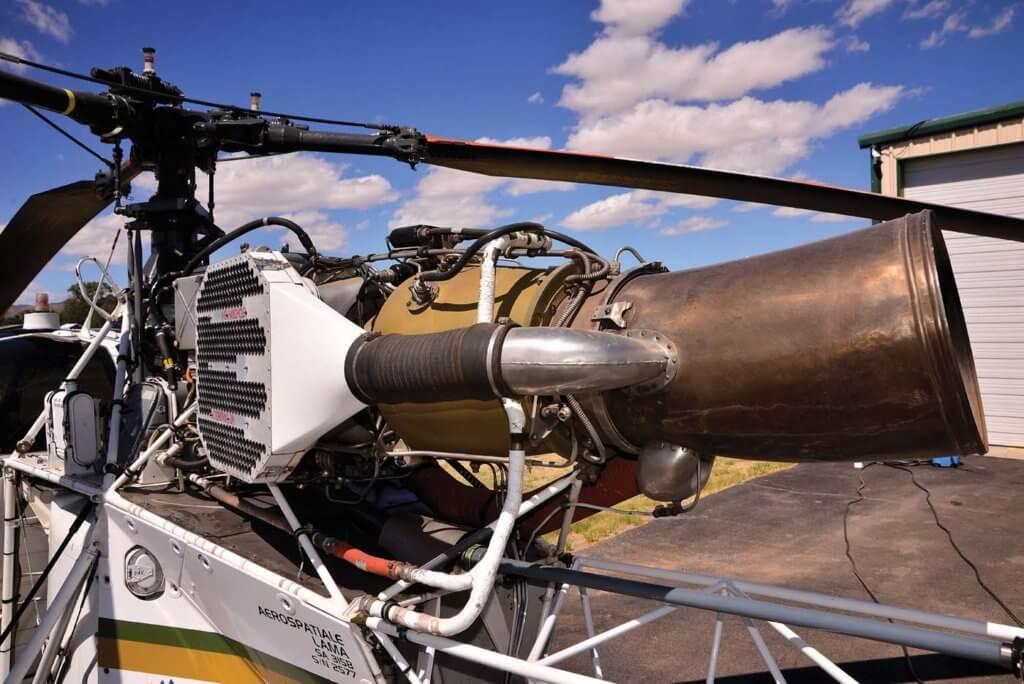 With a powerful and reliable Turbomeca Artouste IIIB turboshaft engine, the Lama has always had a huge power margin.