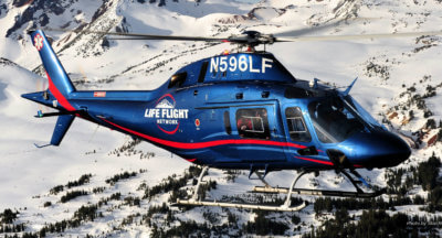 Leonardo Helicopters and Life Flight Network also recently celebrated 20,000 hours reached by the Life Flight's AW119Kx EMS fleet and the occasion was marked with the presentation of a plaque congratulating the operator on the milestone, which was achieved within three years of the first deliveries. Leonardo Photo