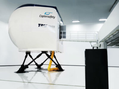 These five high-fidelity simulators will represent Airbus Helicopters H125 and H145, Leonardo-Finmeccanica (formerly AgustaWestland) AW139, AW169 and AW189 and all will be dually European Aviation Safety Agency and Federal Aviation Administration certified. TRU Photo