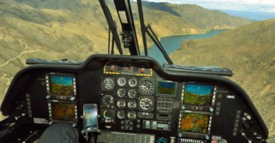 The electronic flight instrumentation system provides customers with a multi-mission instrument flight rules helicopter capable of operating in today's complex air traffic environment. Airwork Photo