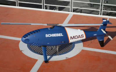 Since MOAS launched in 2014, a total of around 30,000 persons have been rescued and assisted with medical aid. During this year's mission, Schiebel provided MOAS with a Camcopter S-100 system, and an experienced team of onboard operators. Schiebel Photo