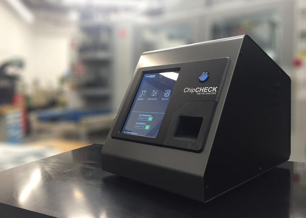 This year, Gastops launched ChipCHECK on the heels of two strong products, and on the shoulders of the company's own proven equipment condition management success.
