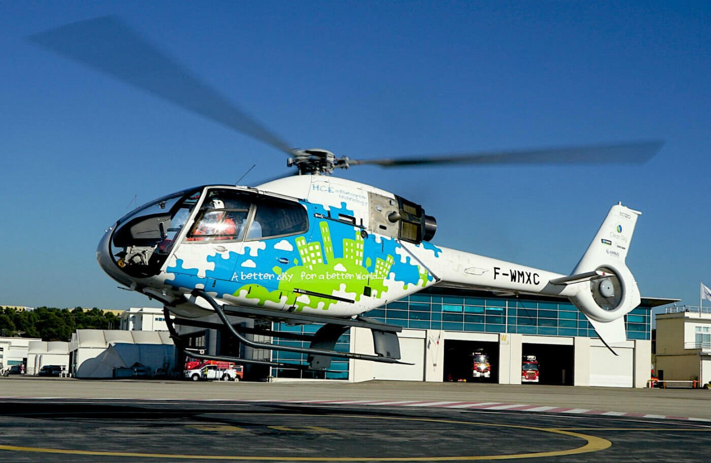 The diesel-powered EC120 first flew in November 2015. Airbus Helicopters Photo