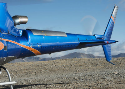 The H125 pictured here is equipped with the FastFin system from BLR Aerospace. The system is now Federal Aviation Administration certified. BLR Photo