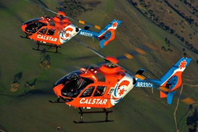 CALSTAR selected the H135 in 2015 following a fly-off with competing models that included tests in late summer heat and high altitude conditions. Airbus Photo
