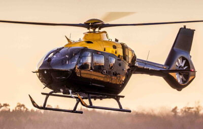 The H135 features the Helionix avionics suite with modern, four-axis autopilot. Airbus Helicopters Photo