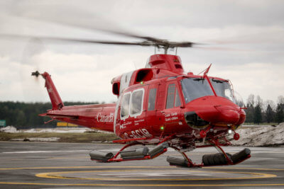 The Bell 412EPI helicopters will help support the Government of Canada's Oceans Protection Plan by enhancing the Coast Guard's capability to contribute to marine safety and environmental response across the country. CCG Photo