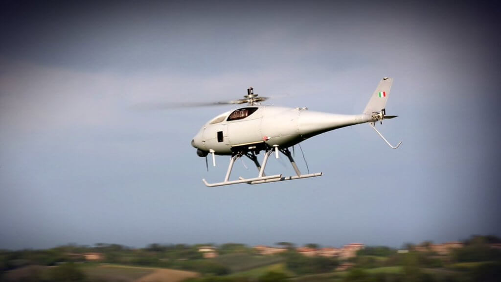 Leonardo-Finmeccanica now has full control of the SD 150 Hero, an unmanned lightweight helicopter program. Leonardo Photo