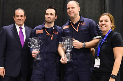 Ornge won first place at the 2016 Air Medical Transport Conference simulation competition in Charlotte, North Carolina. Mike Reyno Photo